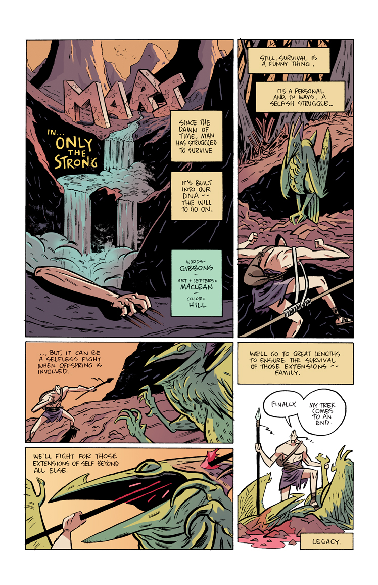 Only the Strong – Page 1
